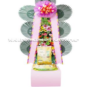 축하쌀화환 고급형 3호 30kg