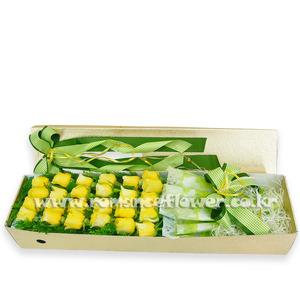 노랑장미박스 2호