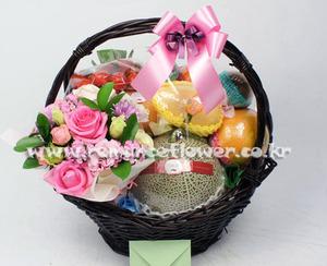 과일꽃바구니 17호